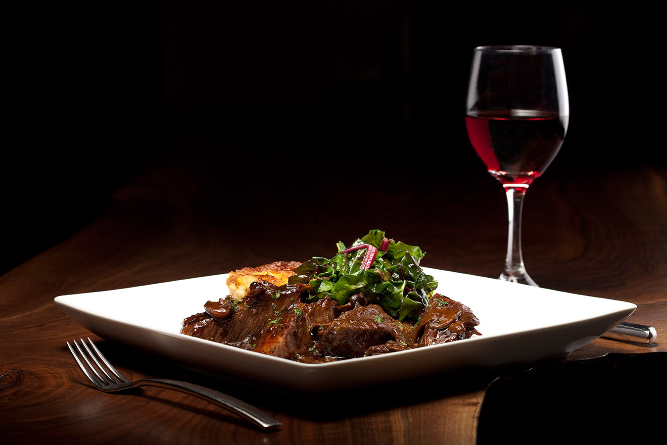 prasino - la grange, illinois - dinner wine beef