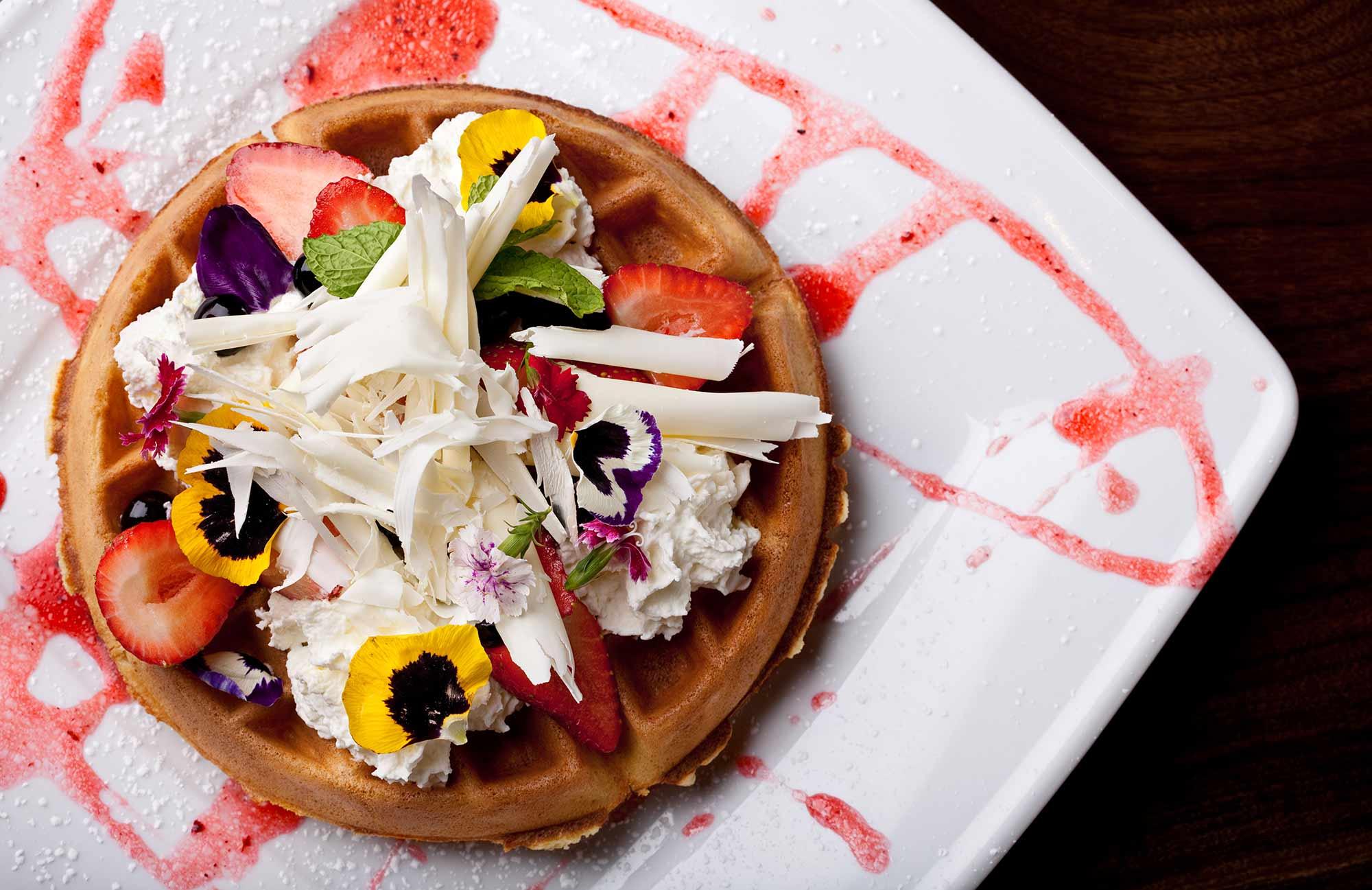 prasino - la grange, illinois - waffles breakfast